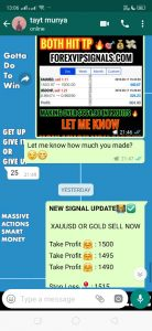forex live trading signals by forex vip signals