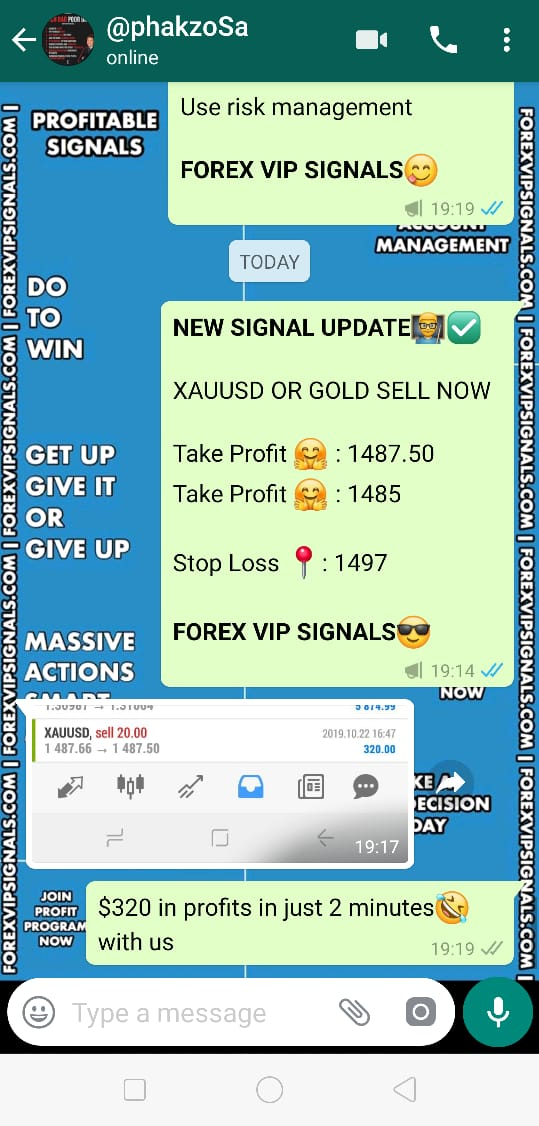 22 OCTOBER 2019 – TRADING WITH FOREX VIP SIGNALS REVIEW