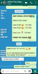 free forex signal