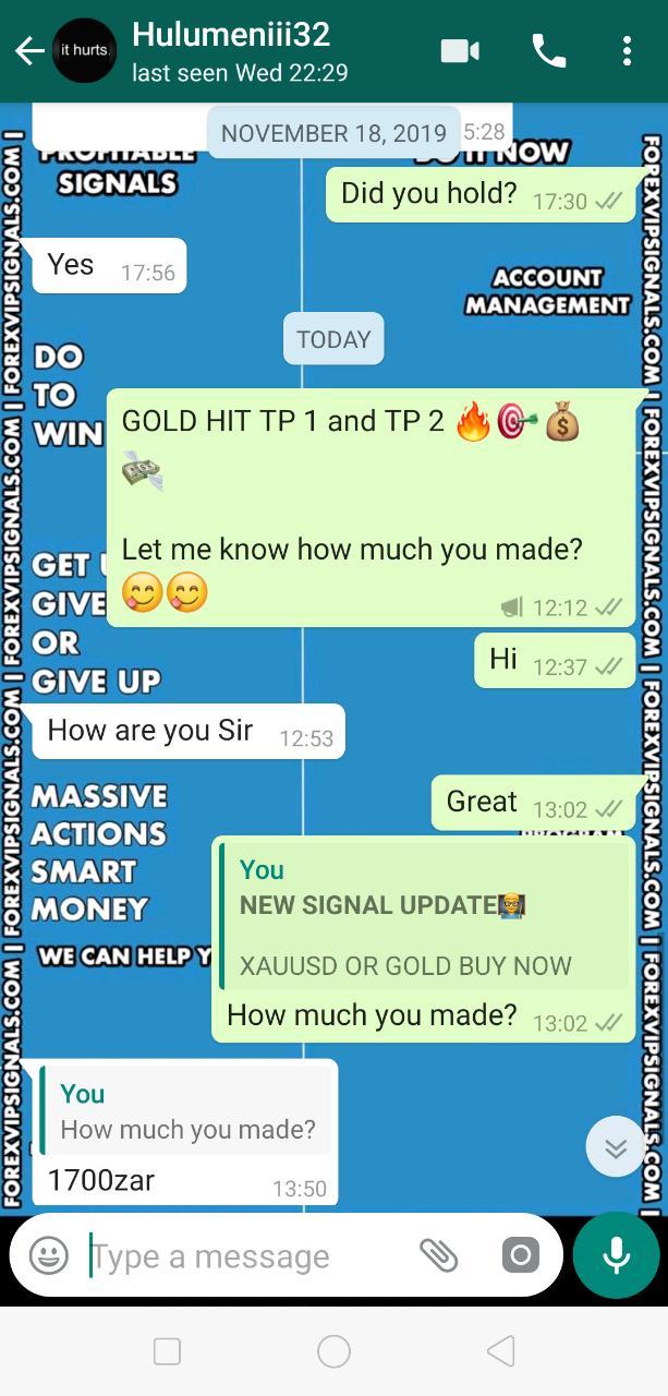 signal forex vip