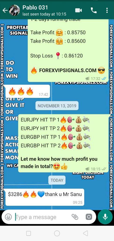 Whatsapp forex signals