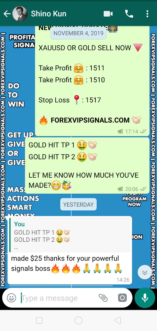 free signals for forex trading