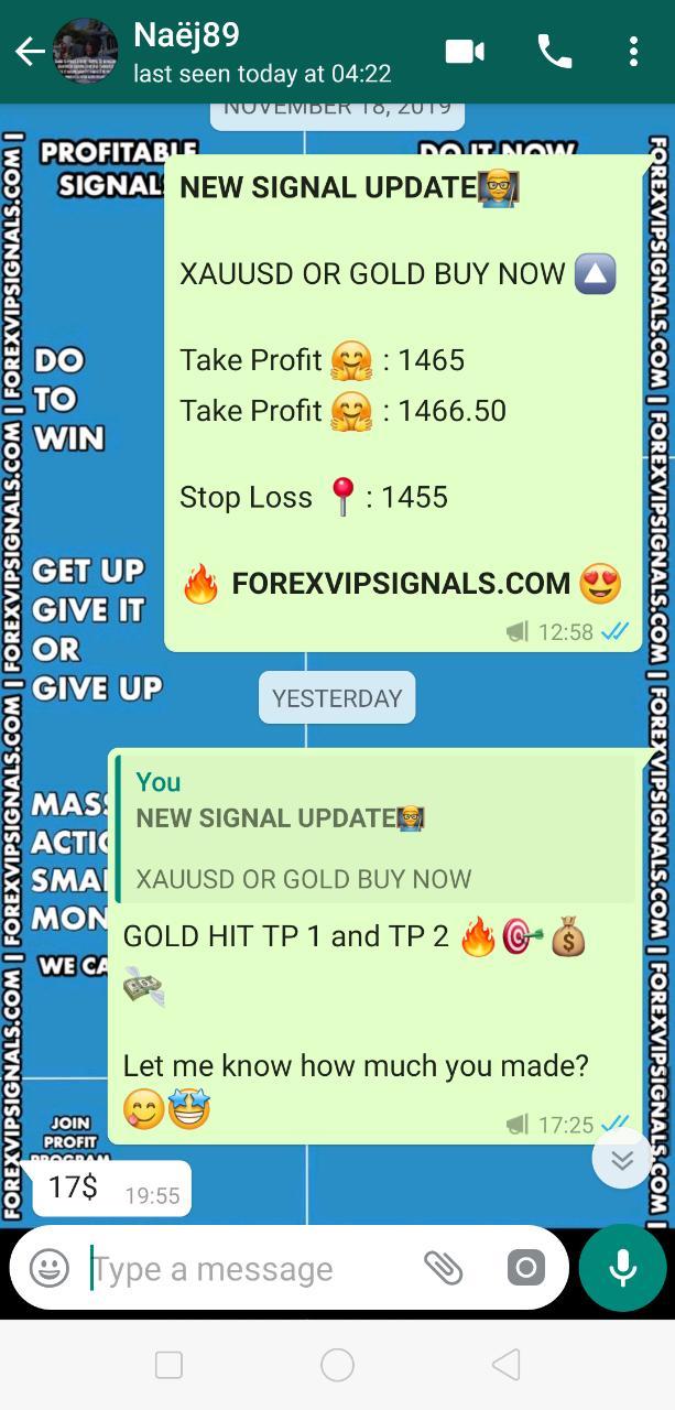 xauusd signal telegram