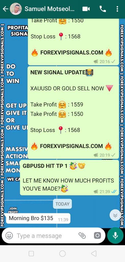 vip forex signals