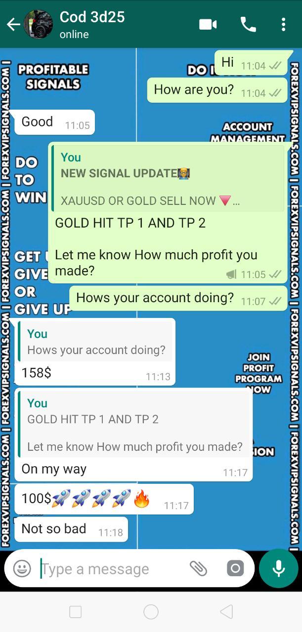 vip signals forex