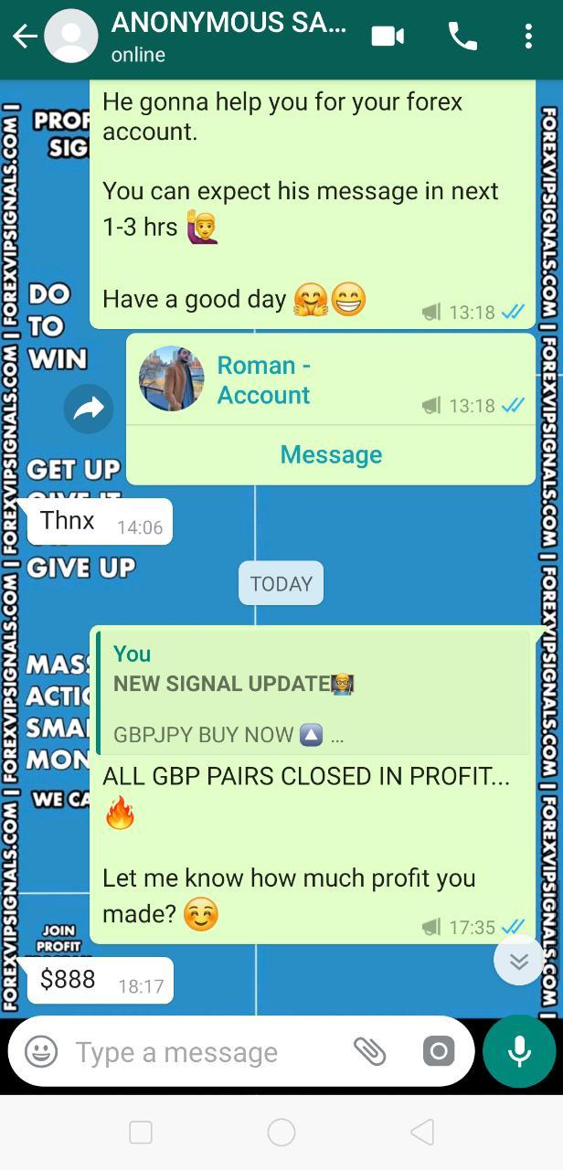 signal forex free