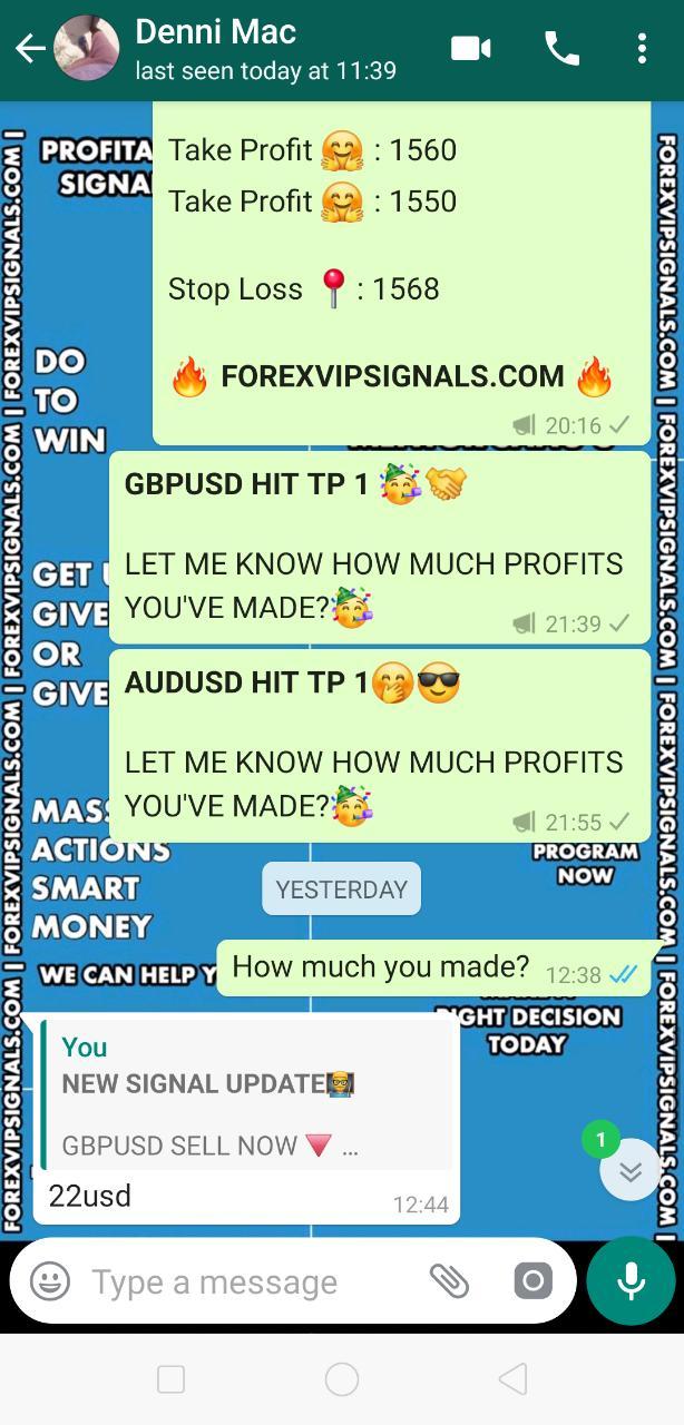free vip forex signals