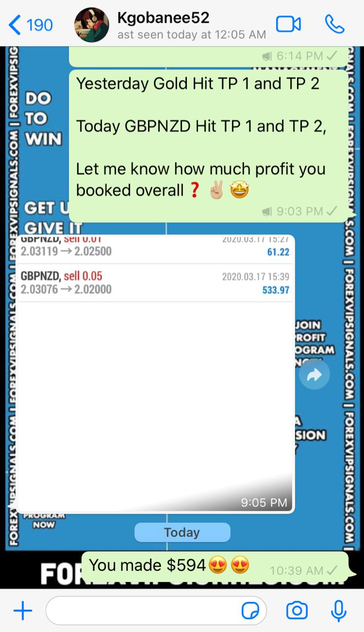 accurate forex signals telegram by forex vip signals