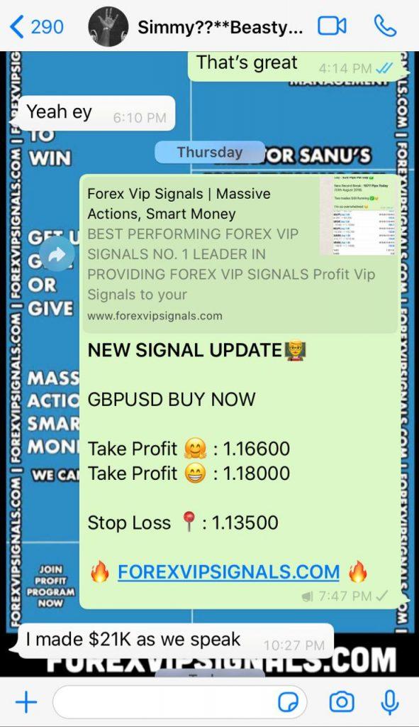 forex testimonials by forex vip signals
