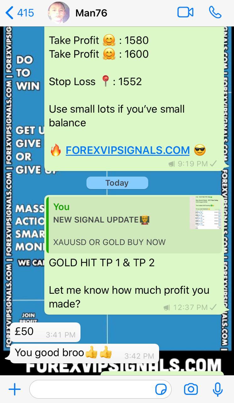 online live forex signals