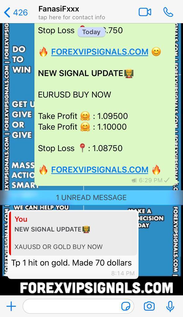 free forex signals online by forex vip signals