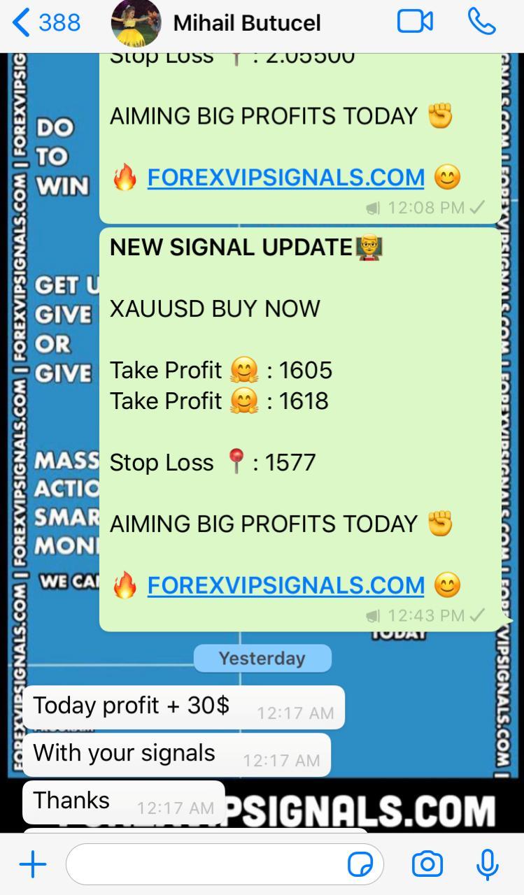 online live forex signals by forex vip signals