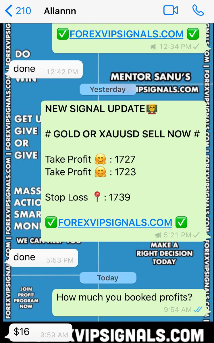 daily trading signal by forex vip signals