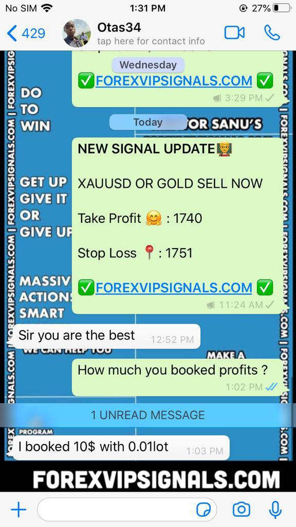forex signals live with forex vip signals