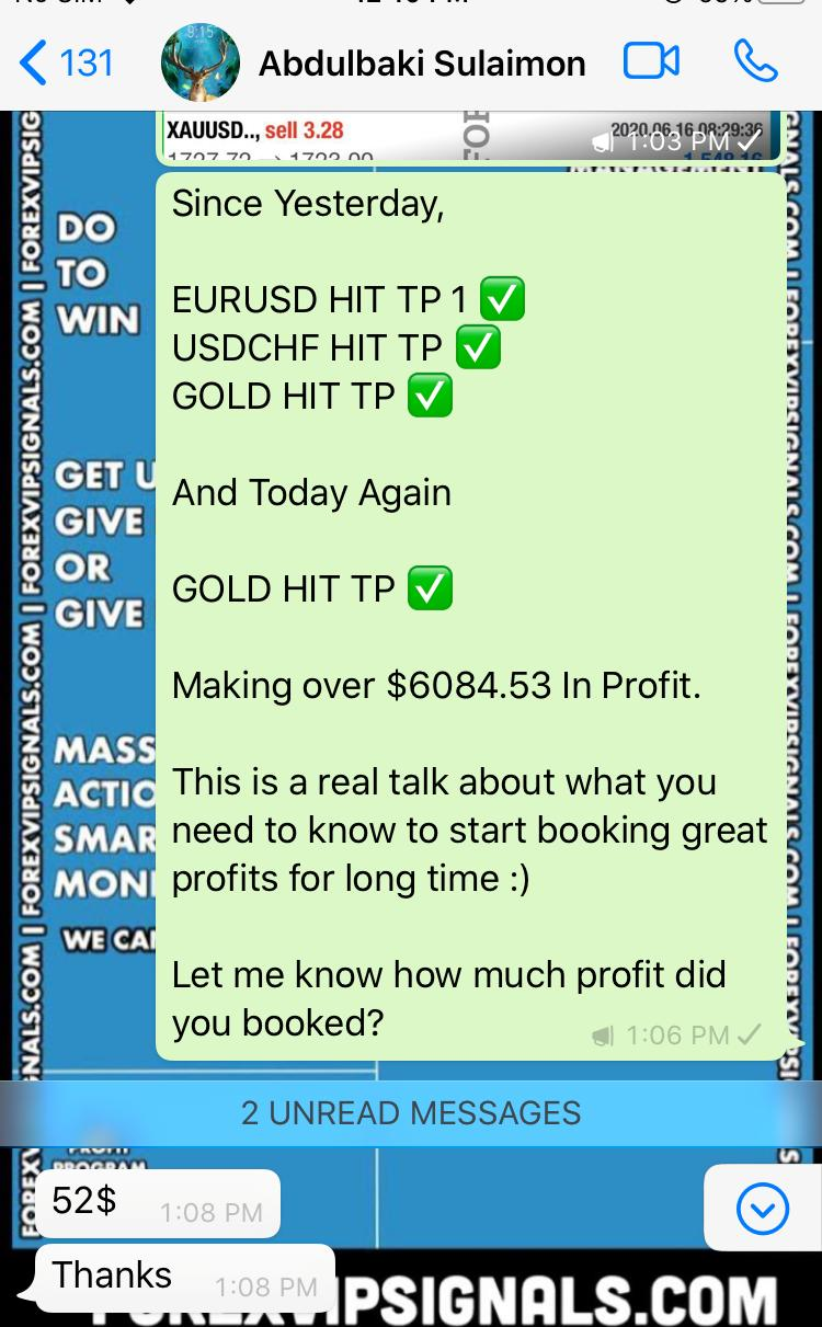 free trading live signals on whatsapp by forex vip signals