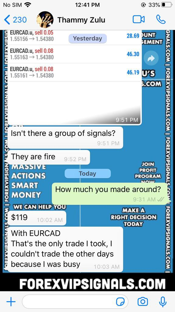 live daily signals by forex vip signals