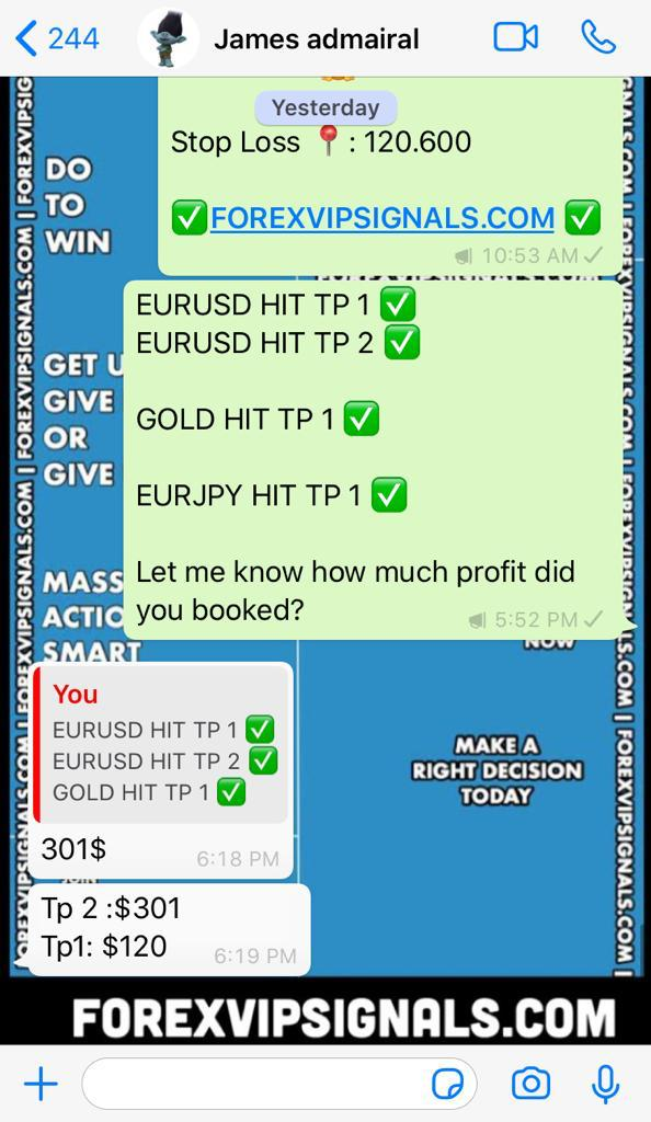 trading signal online with forex vip signals