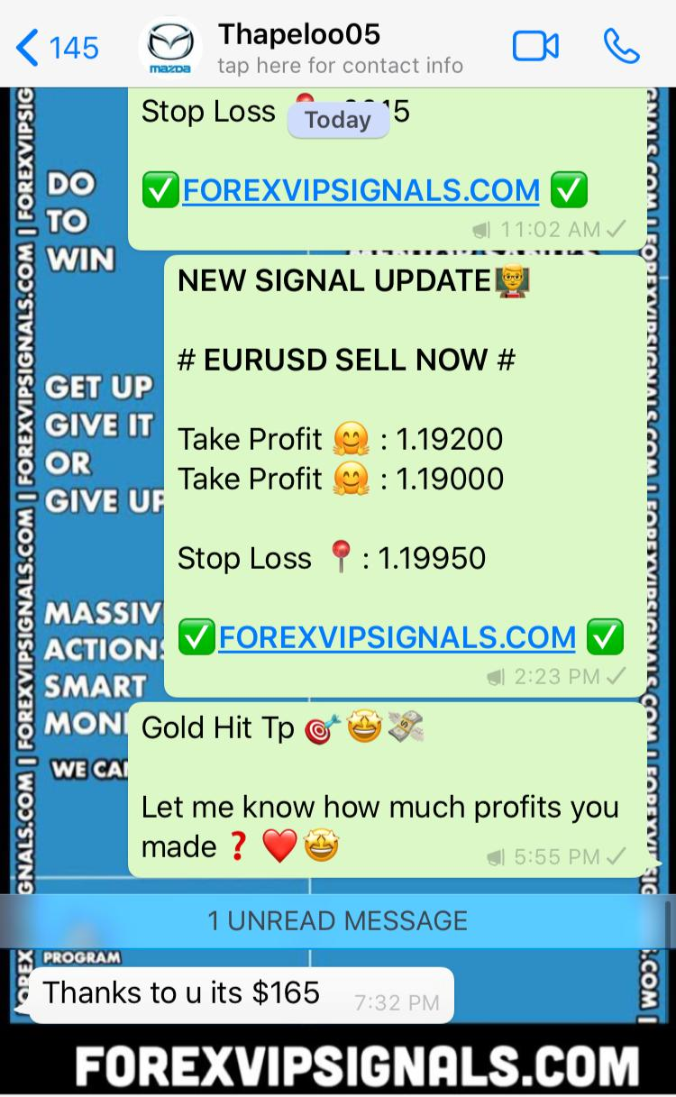 forex signals on whatsapp by forex vip signals