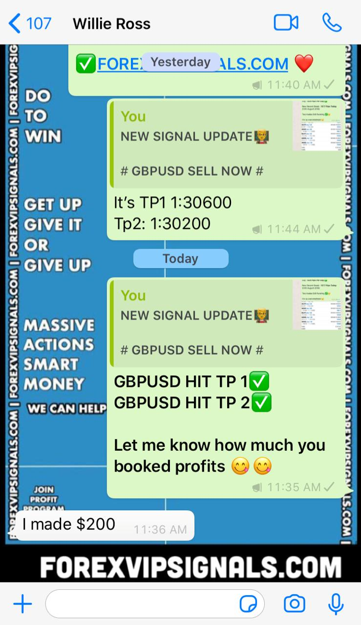forex trading signals live by forex vip signals