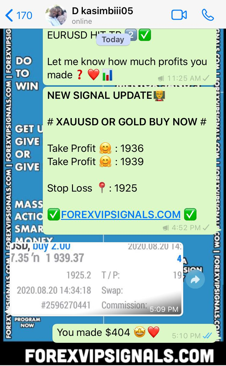 trading forex signals by forex vip signals