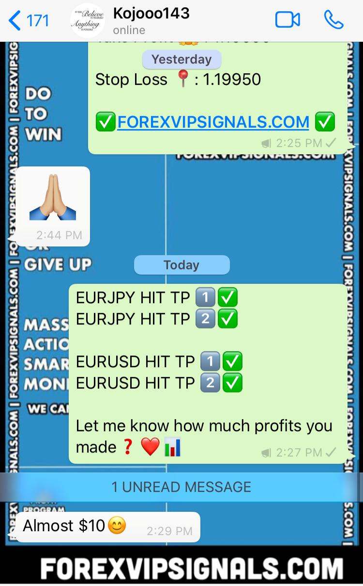 winning forex signals with forex vip signals