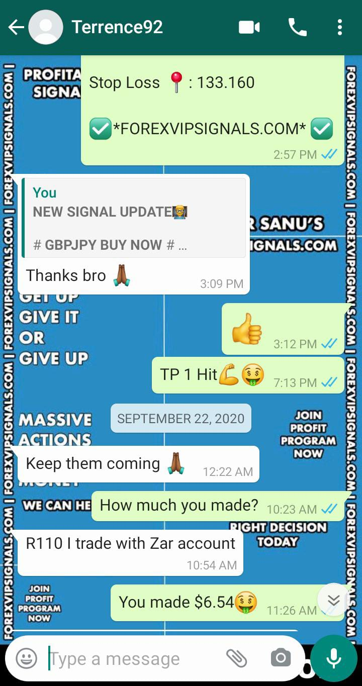 trading signals daily by forex vip signals