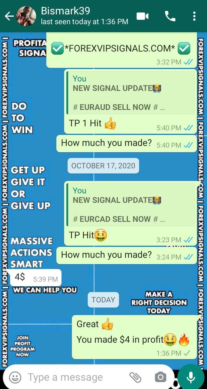 free signals telegram by forex vip signals