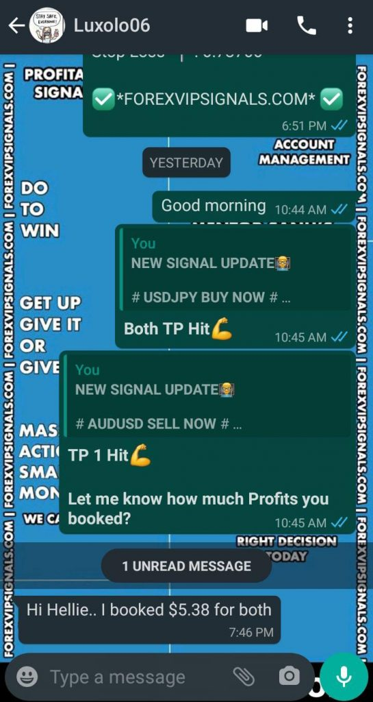 reliable forex signals by forex vip signals