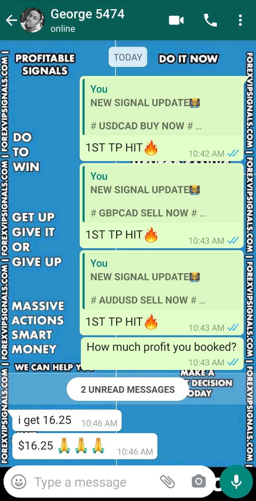 trading signals by forex vip signals