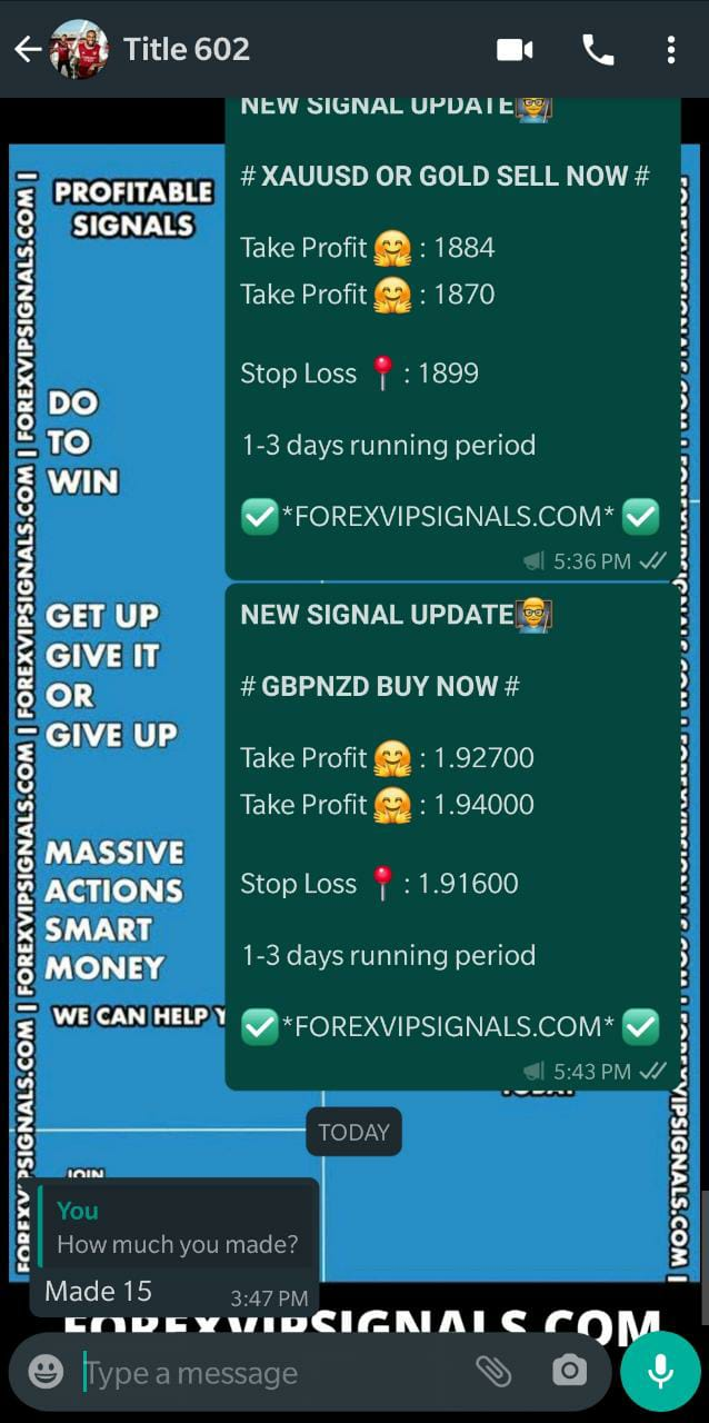 mt4 signal by forex vip signals