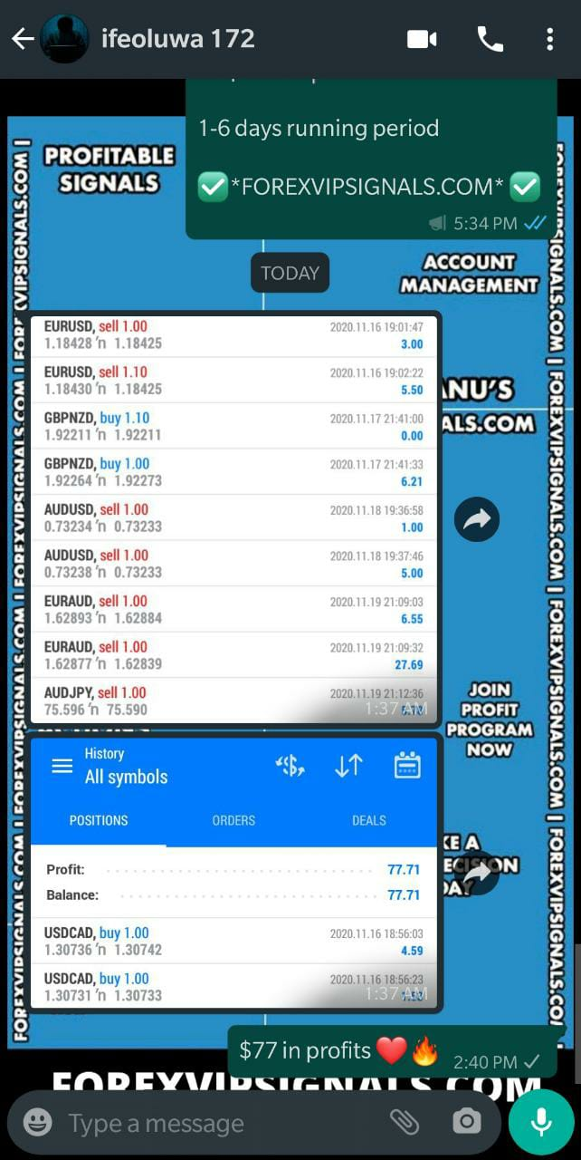trading signals telegram with forex vip signals