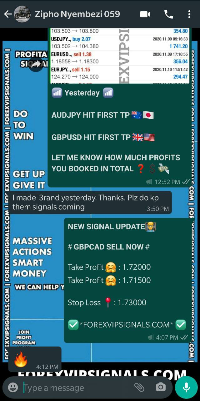 trusted forex signals by forex vip signals