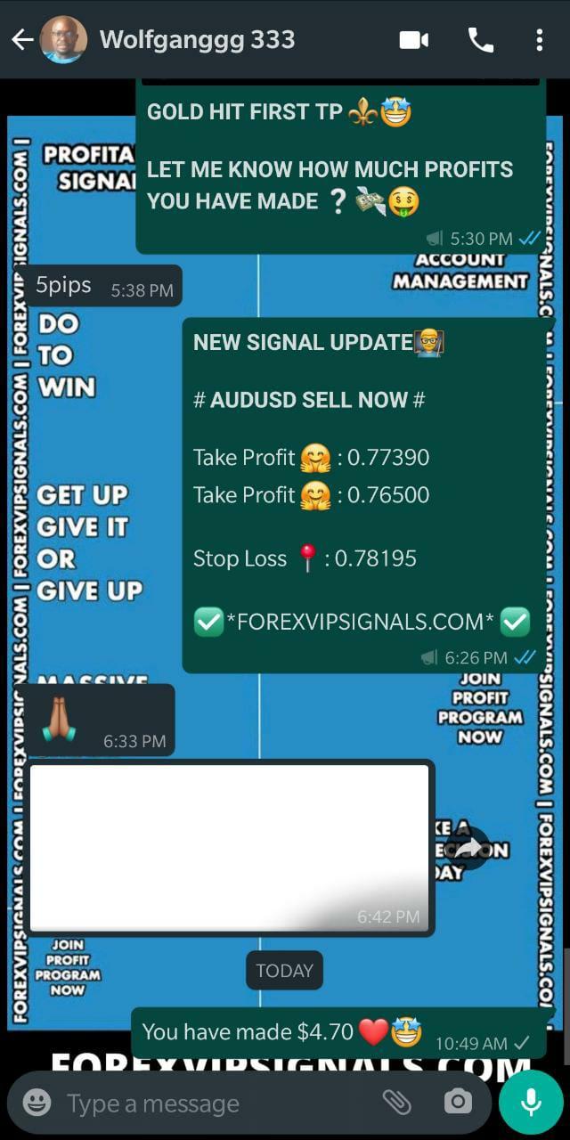 best whatsapp forex signals with forex vip signals