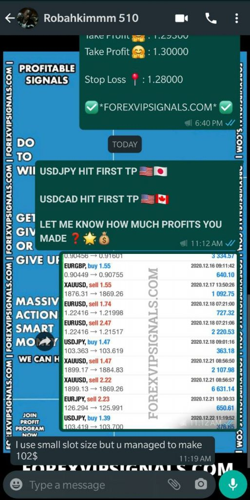 daily trading signals by forex vip signals