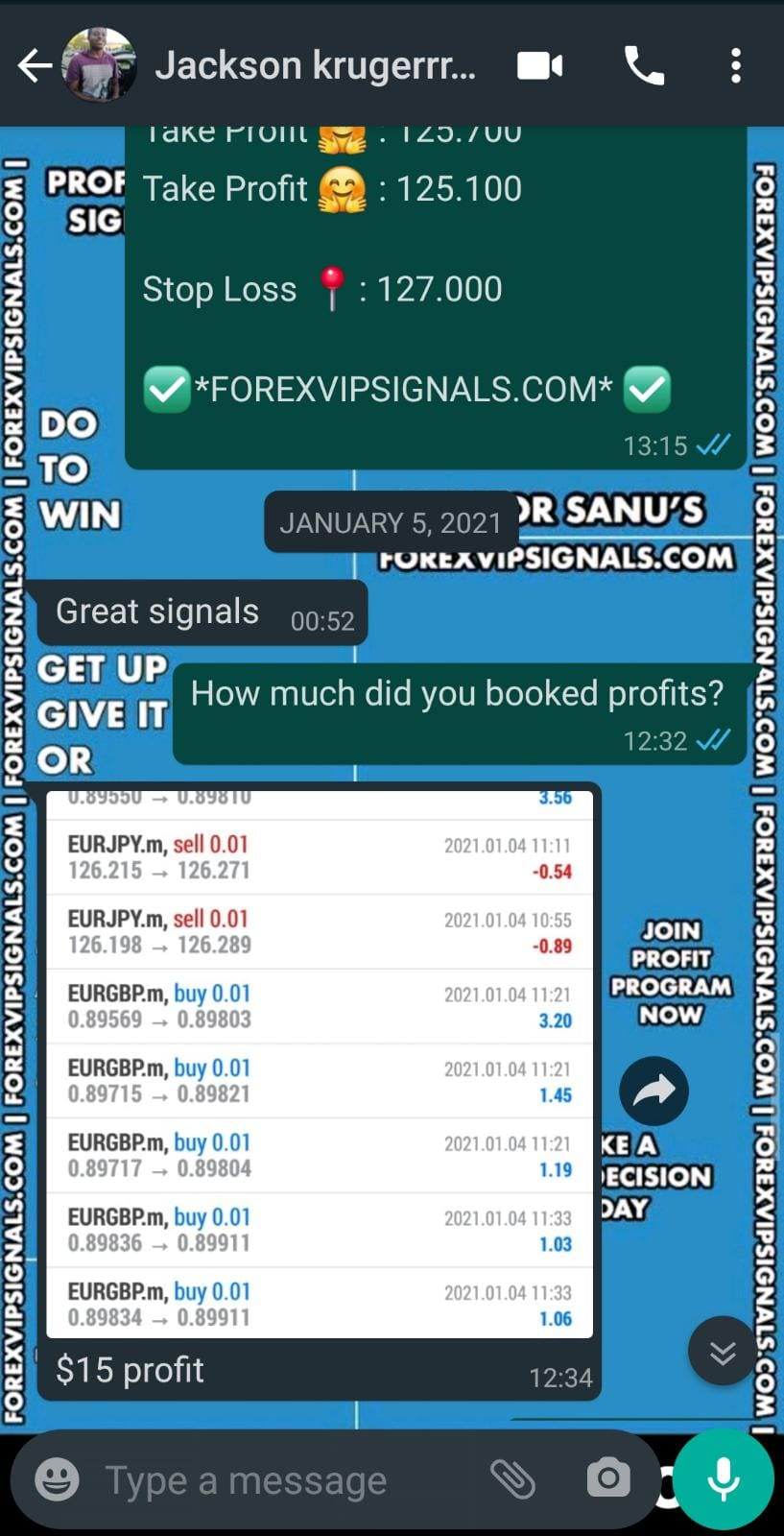 free forex trading signals by forex vip signals