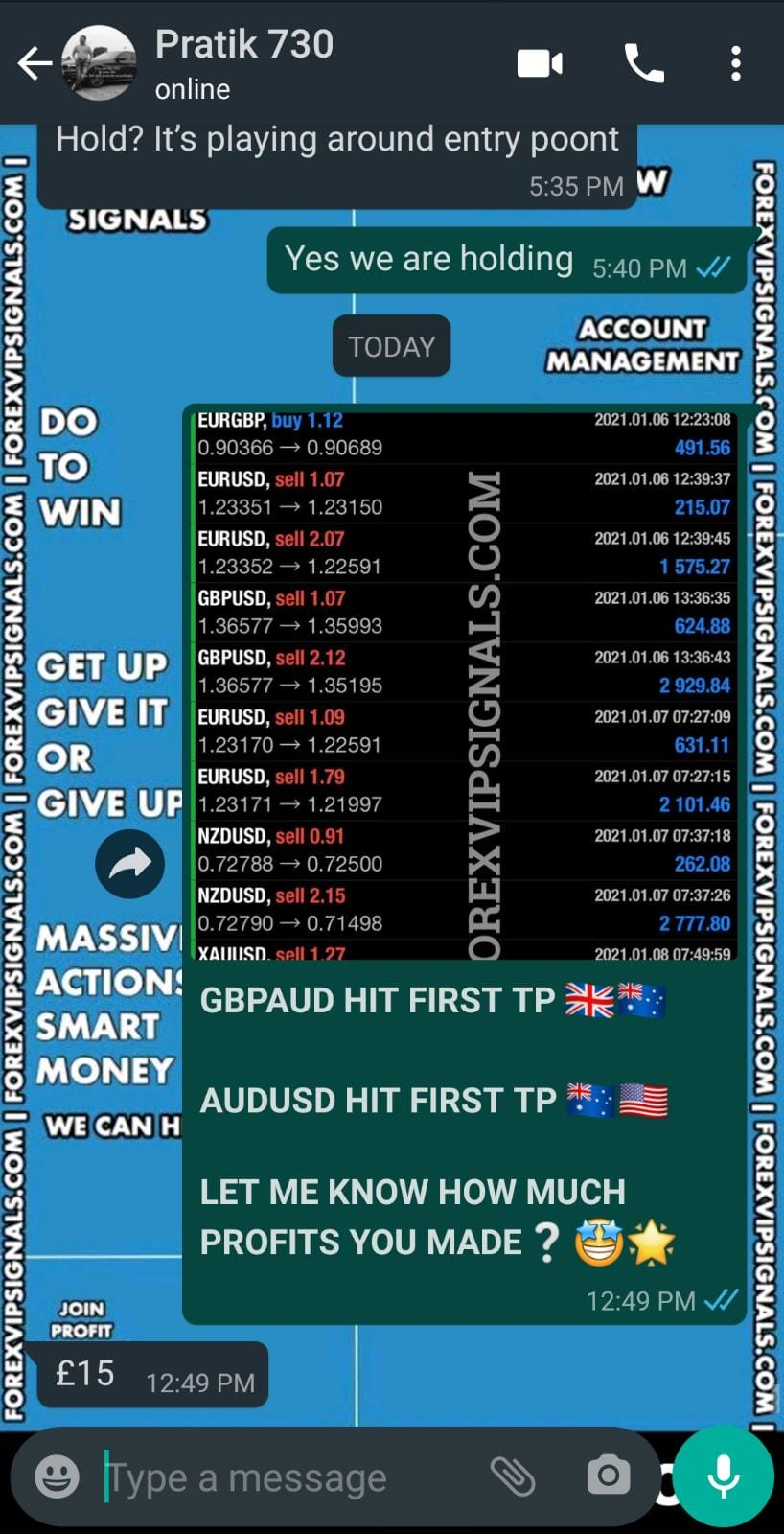 free forex trading signals daily by forex vip signals