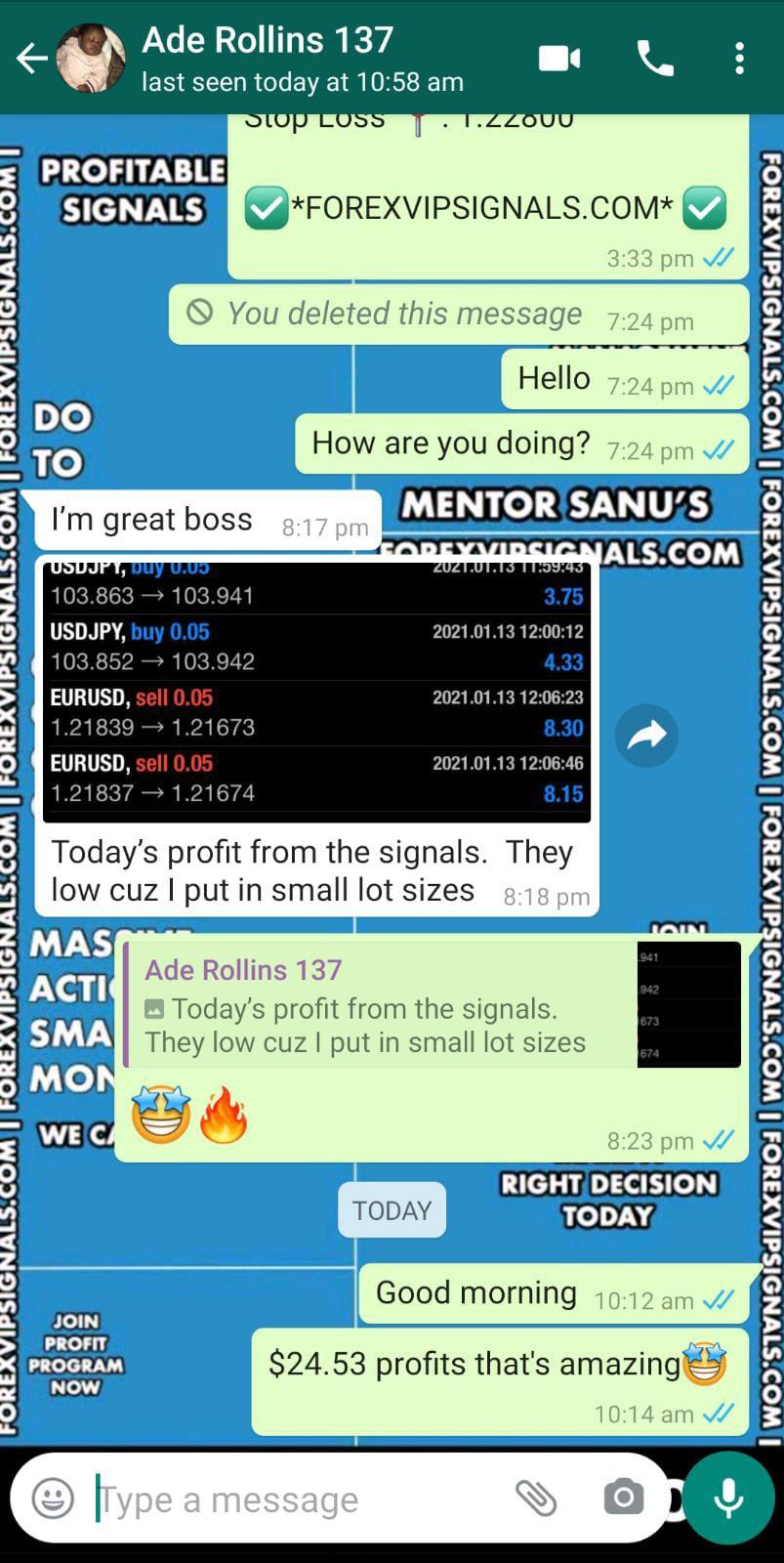 honest forex signals with forex vip signals
