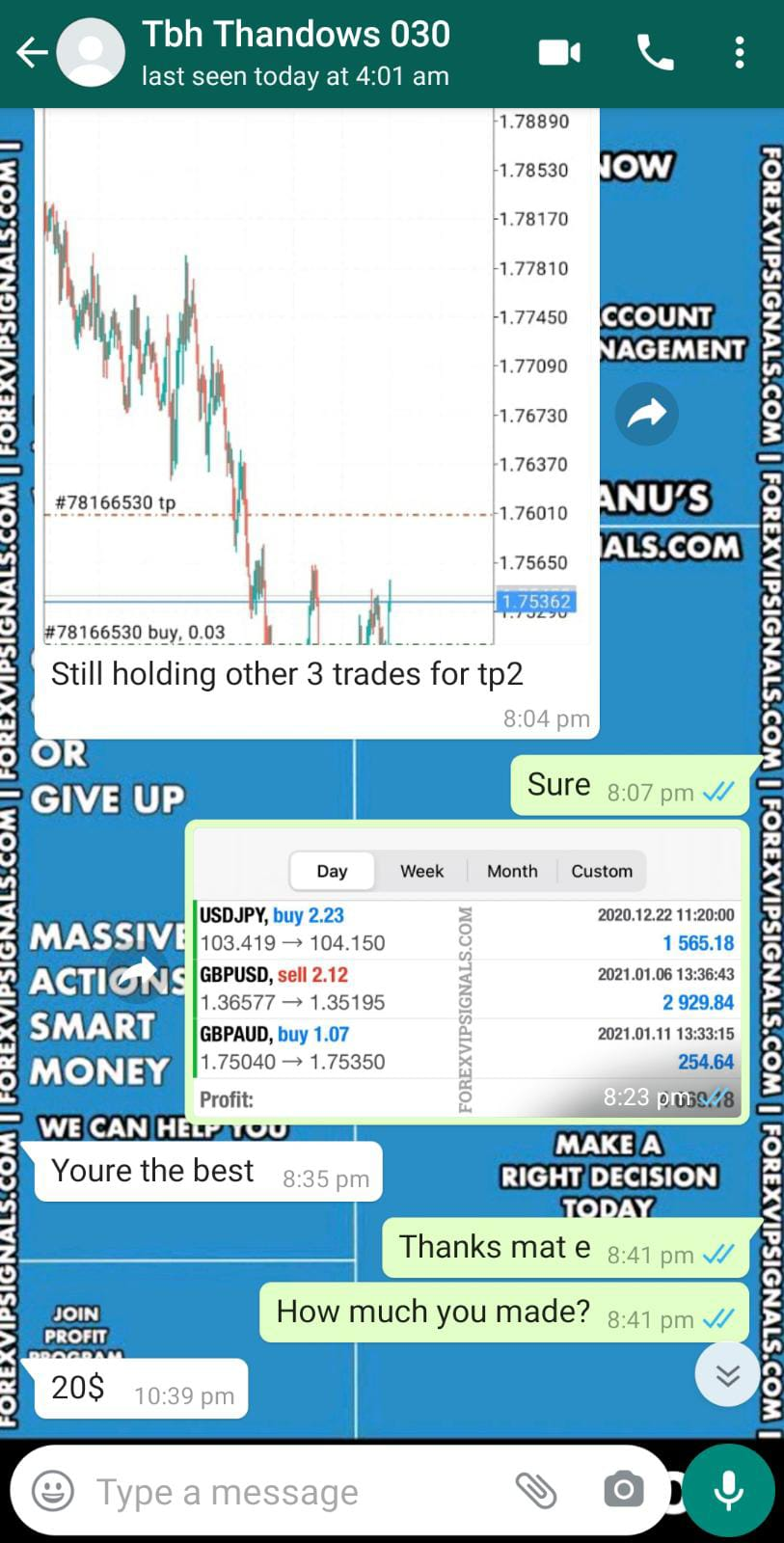 vip signals with forex vip signals