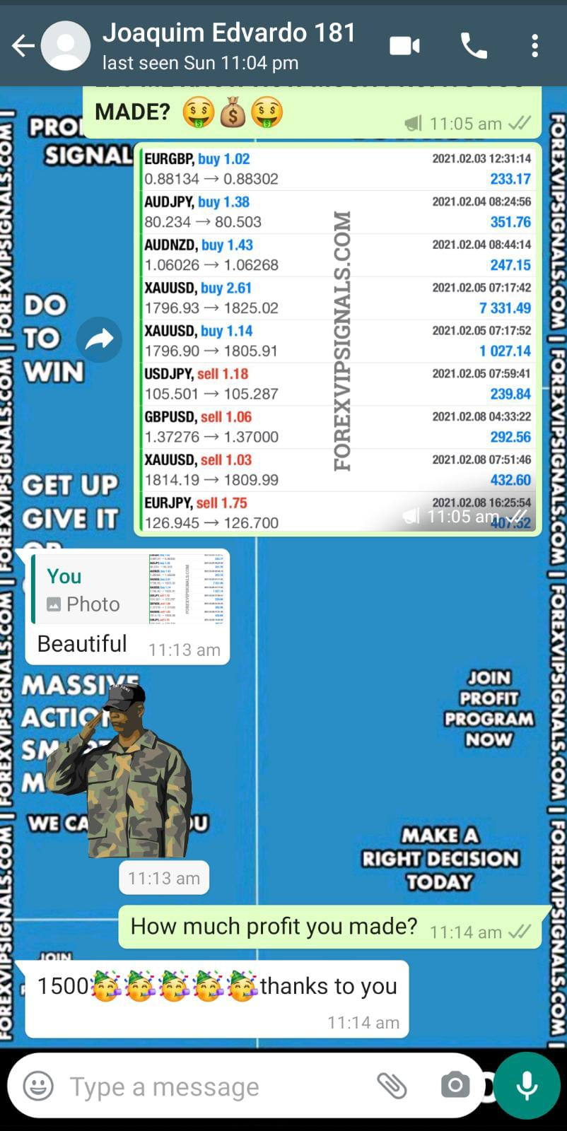 forex alerts by forex vip signals
