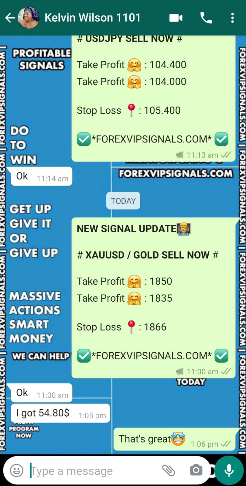 forex live trading signals with forex vip signals