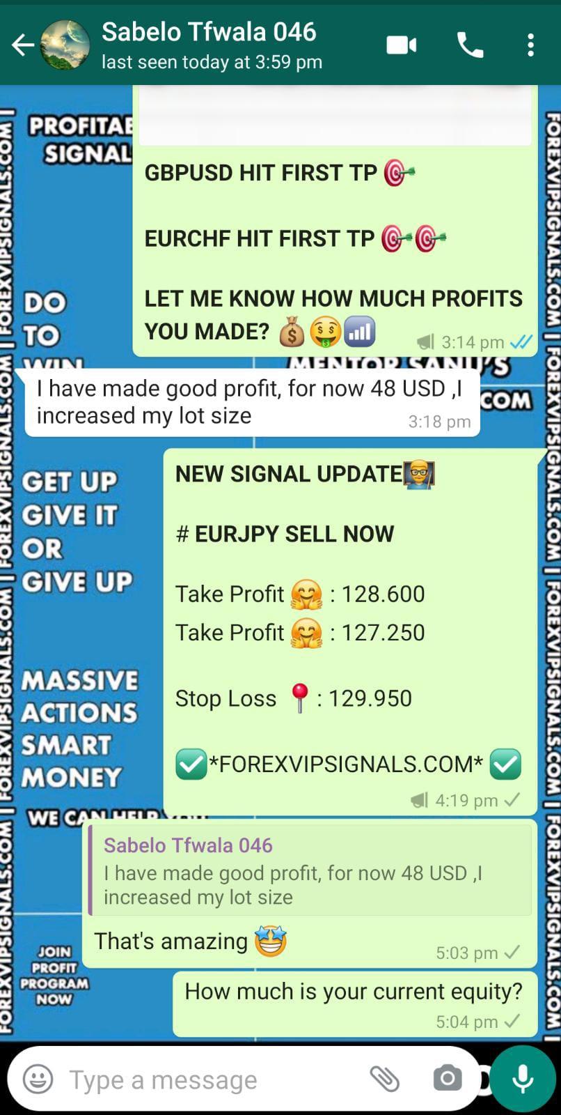 free forex signals telegram with forex vip signals