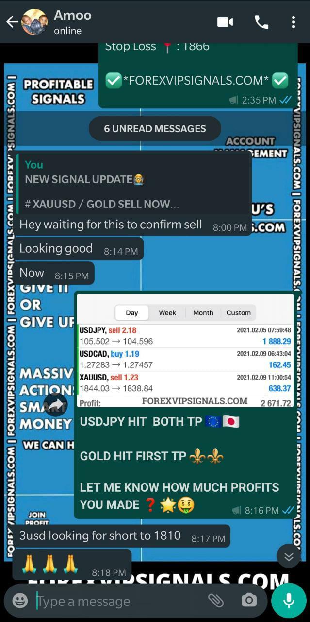 free forex signals whatsapp by forex vip signals