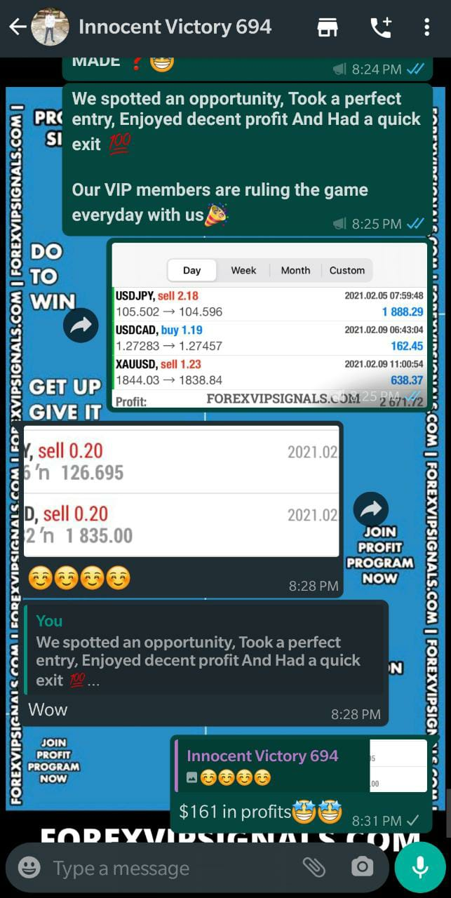 real forex signals by forex vip signals