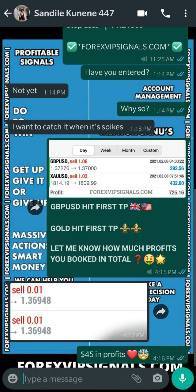 telegram trading signals with forex vip signals