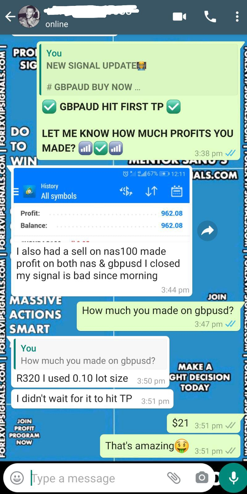 live trading signals with forex vip signals