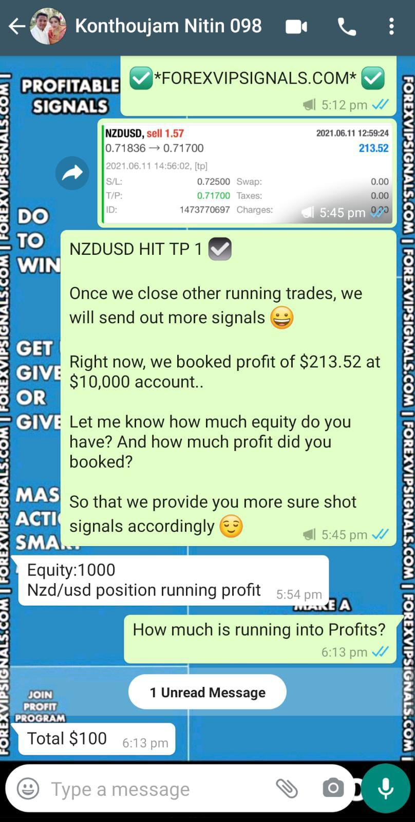 forex daily signal by forex vip signals