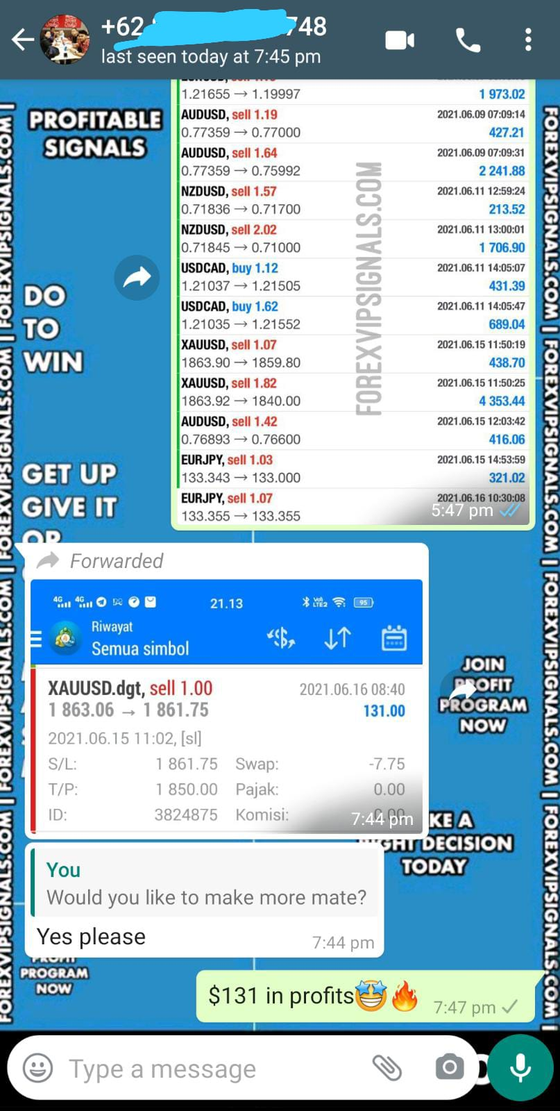 forex gold signals by forex vip signals
