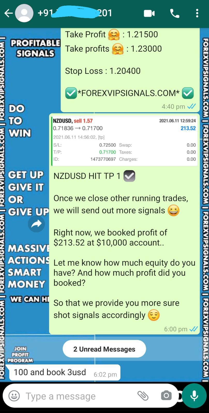 live forex signal by forex vip signals