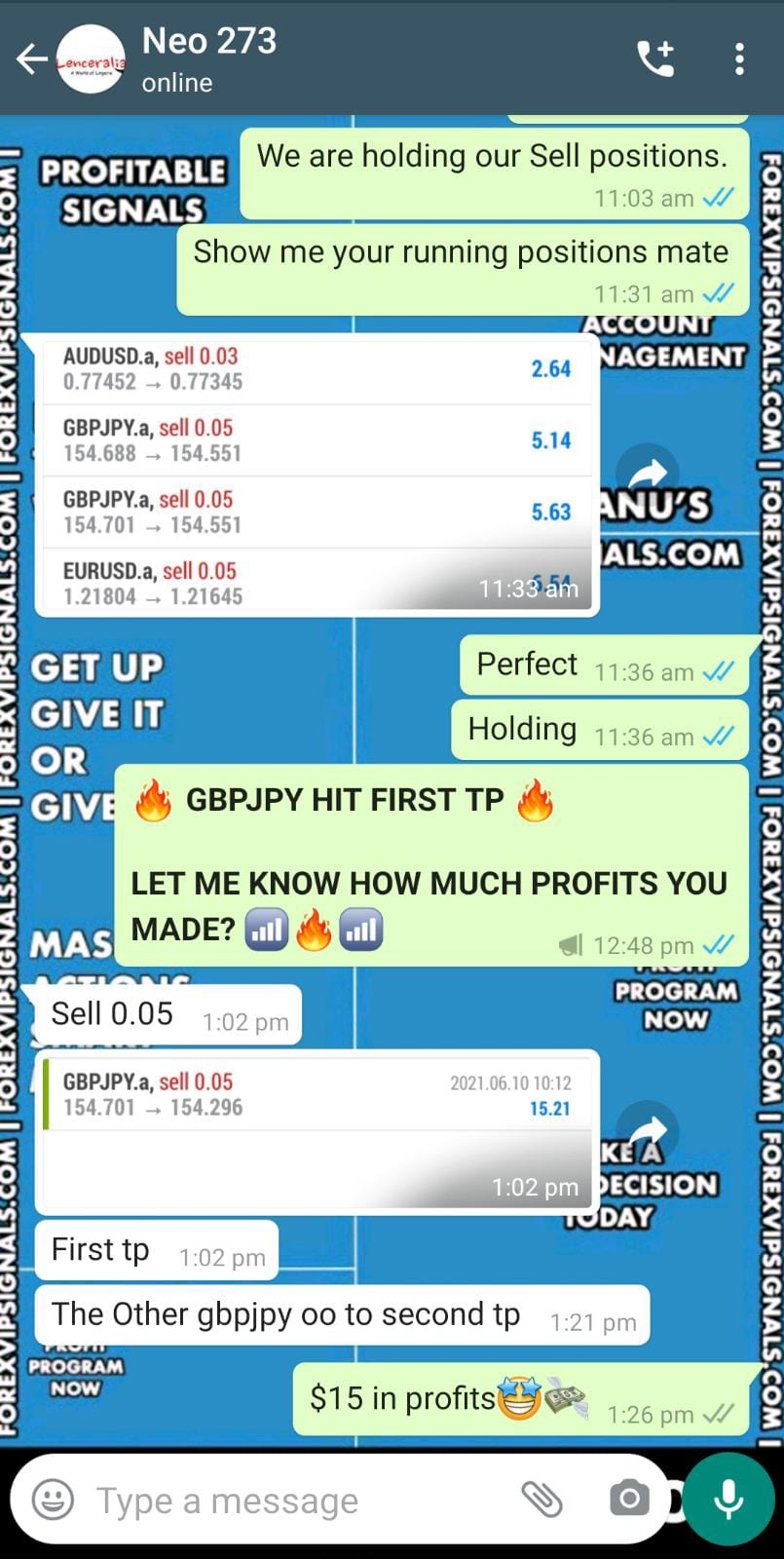 live forex signal with forex vip signals