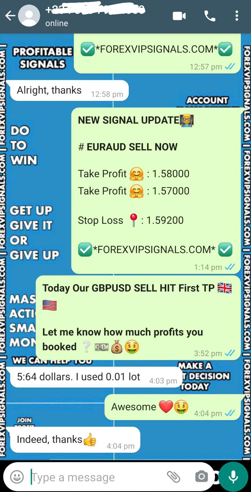 daily trading by forex vip signals